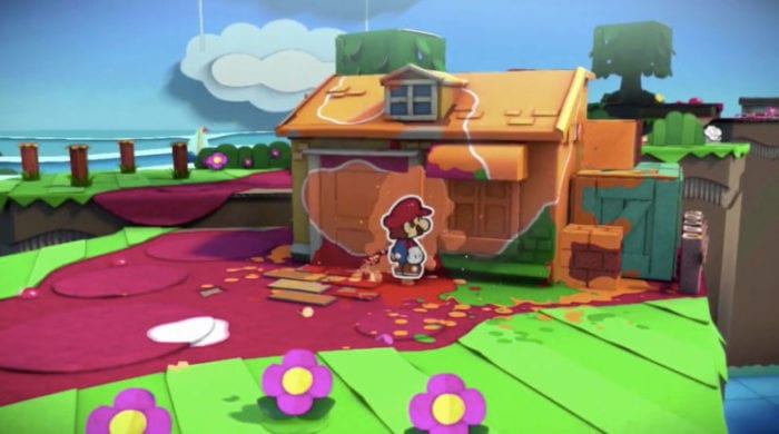 Paper Mario, Color Splash, Wii U, new, announcment, Nintendo