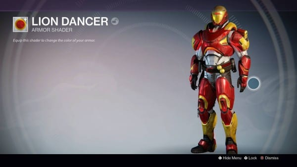 Lion Dancer Destiny