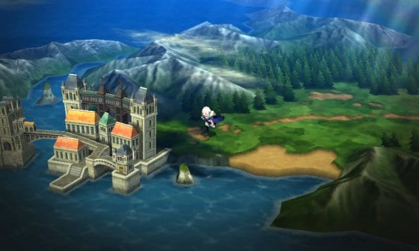 Bravely Second World Map