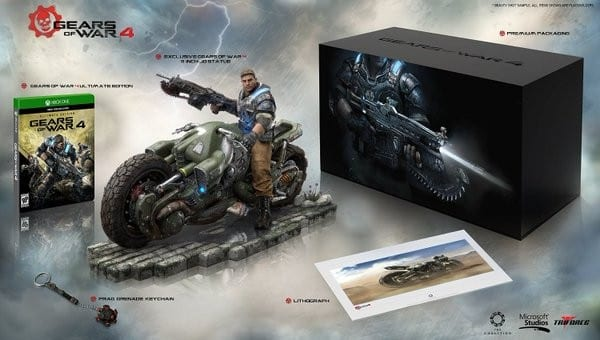 Gears of War 4, Collector's Edition, Amazon