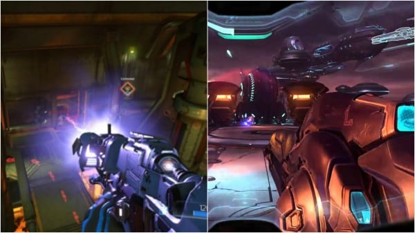 Doom, Halo 5, comparison, similar, same