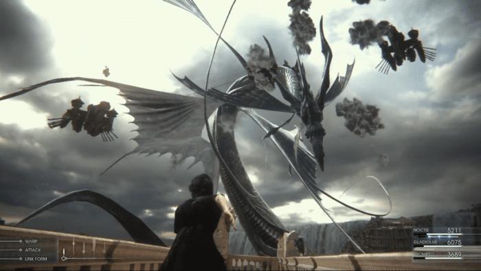 Final Fantasy XV, FFXV, summon, Leviathan