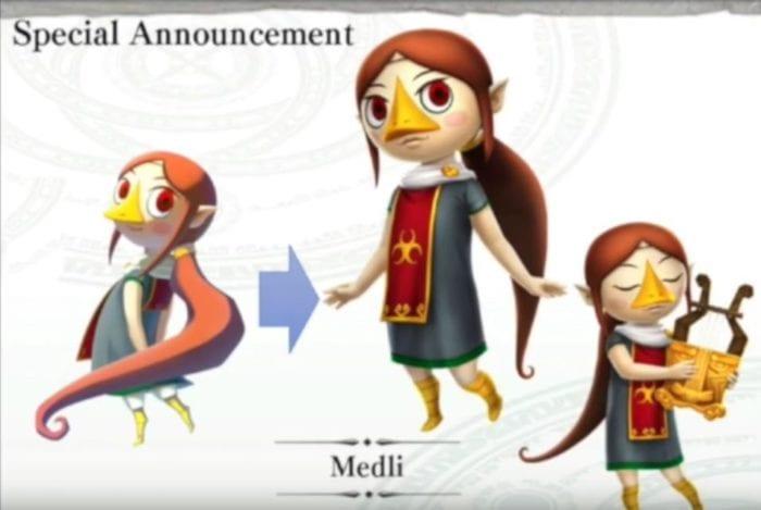 Hyrule Warriors Legends, Medli, DLC, trailer