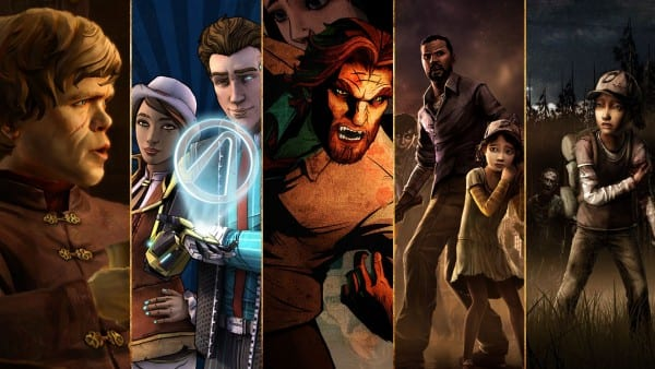 Telltale Games Collection, Game of Thrones, Tales from the Borderlands, The Wolf Among Us, The Walking Dead