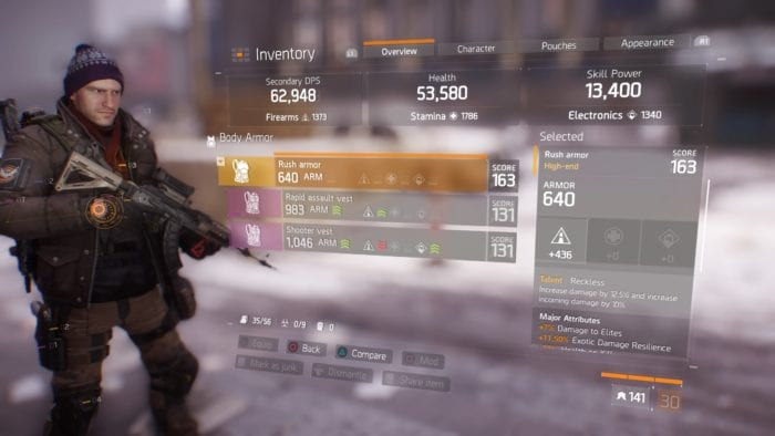 The Division Gear Score