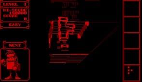 Nintendo Virtual Boy (1995) - 3D Tetris (1996)