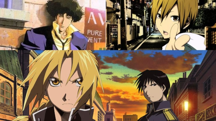 anime, Fullmetal Alchemist, Cowboy Bebop, Durarara, best, series, must, watch, gallery