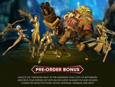Battleborn Pre-Order Bonus Character Skin
