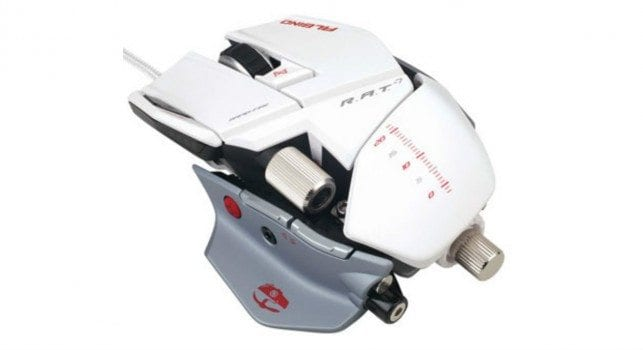 Cyborg R.A.T. 7 Albino Gaming Mouse