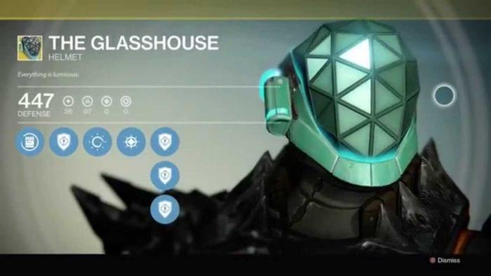destiny the glasshouse