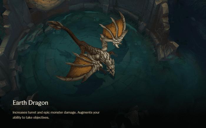 League of Legends Earth Dragon
