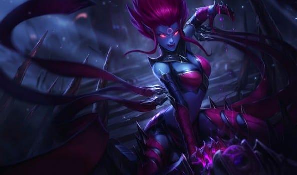 Evelynn League of Legends new splash art update