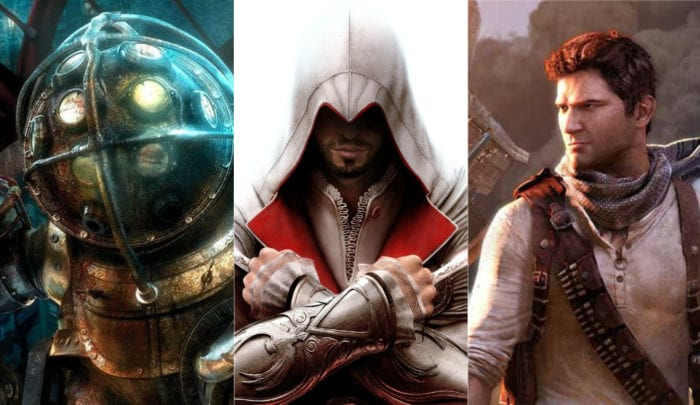 bioshock assassin's creed uncharted