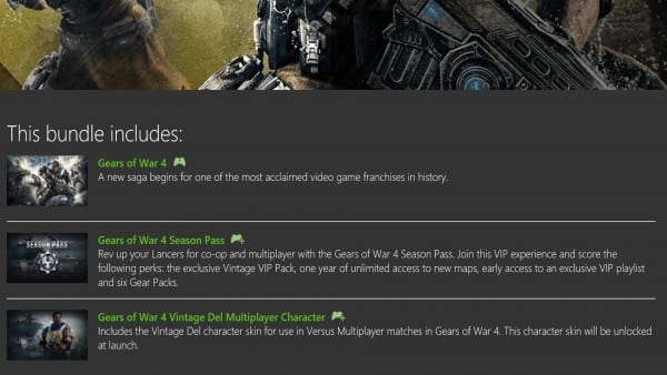 Gears of War, 4, Ultimate Edition, Bundle, Early Access, Revealed, Xbox One, Release Date, Season Pass