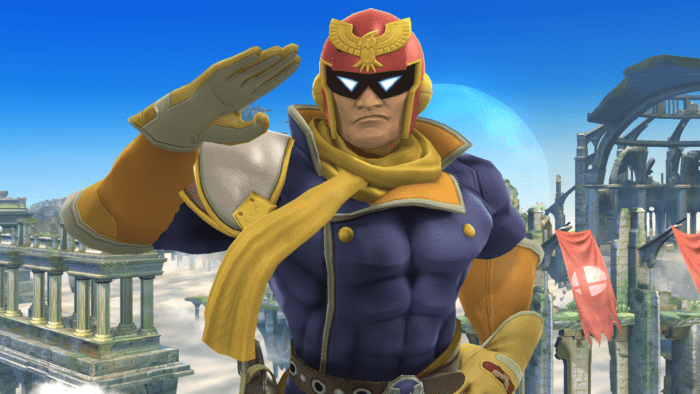 Captain Falcon, Nintendo, Game, character, F-Zero