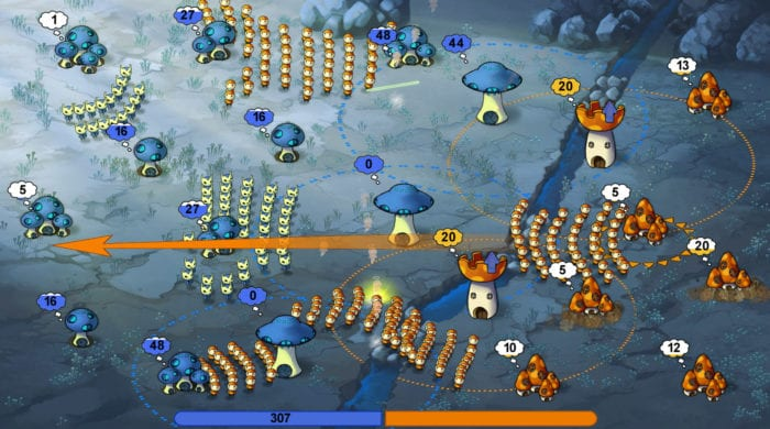 mushroom wars battle