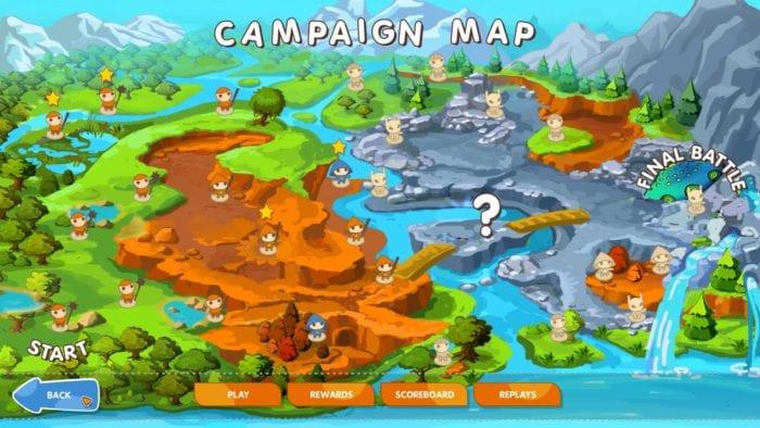 mushroom wars map