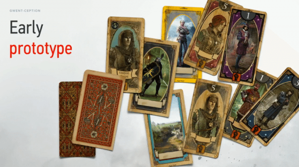 The Witcher 3 Gwent Prototype Cards