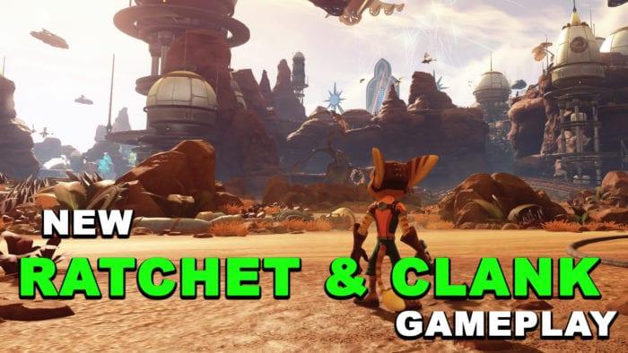 ratchet and clank gameplay