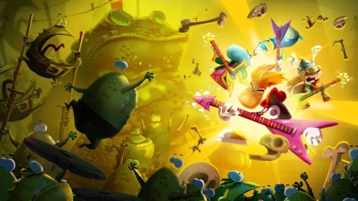 Rayman Legends, best, Wii U, games, co-op