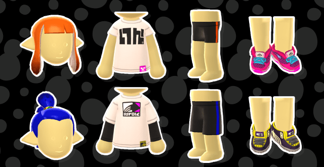 Splatoon Miitomo Items