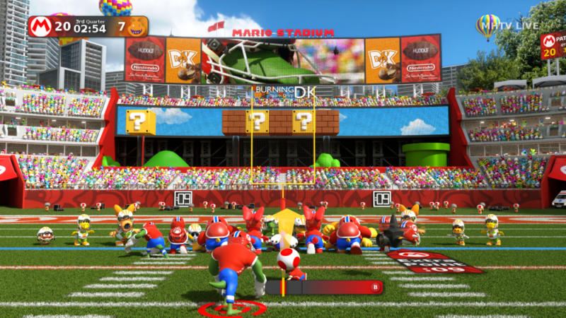 Super Mario Football