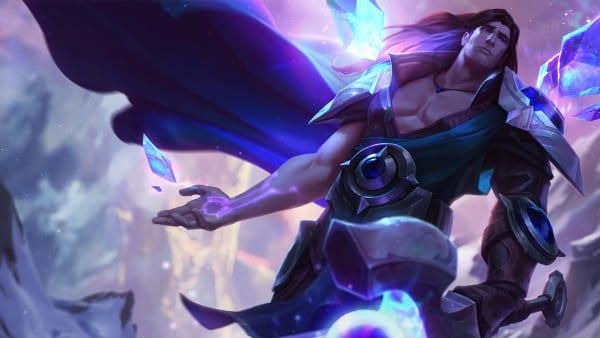 taric league of legends new splash