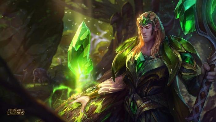 League of Legends Emerald Taric