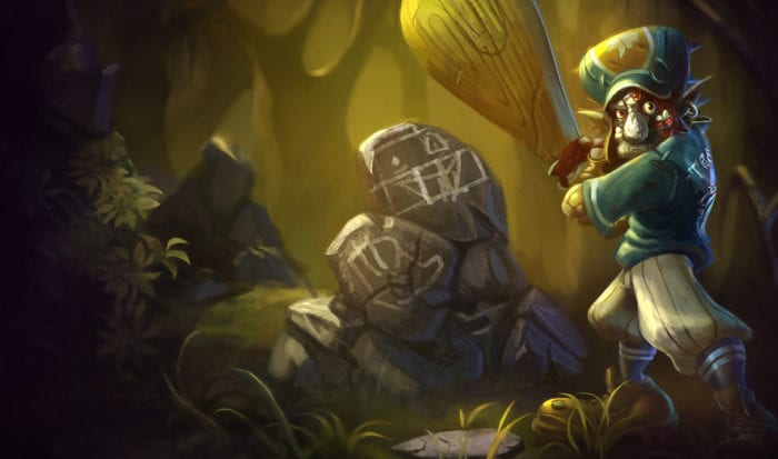 League of Legends Original Lil' Slugger Trundle