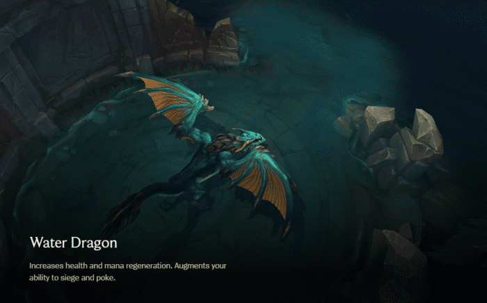 League of Legends Water Dragon