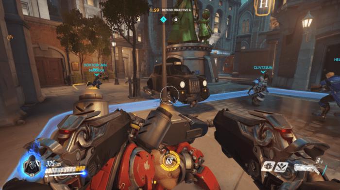 Overwatch defense