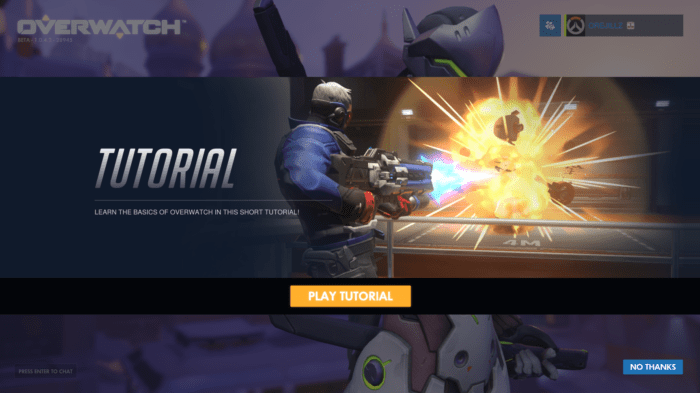 Overwatch Tutorial