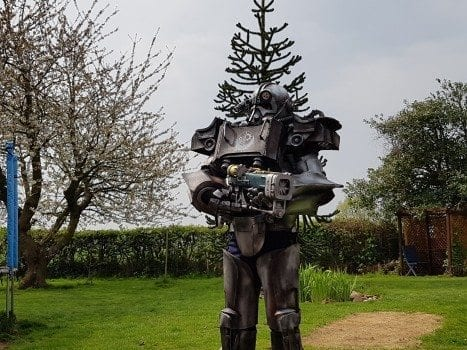 Fallout 4, power armor, cosplay, Shipwreck Cosplay
