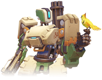 Bastion - Overwatch Defence Character