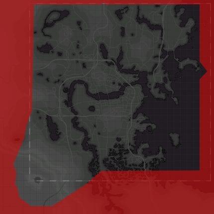 Fallout 4 commonwealth map comparison