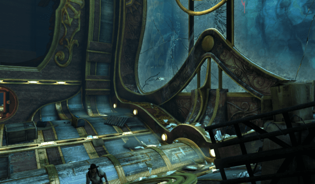 Uncharted 3 Set Piece Ship