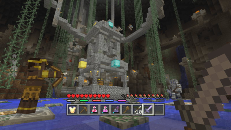 Minigames Coming To Minecraft Console Editions Starting In June - Minecraft ps4 minispiele
