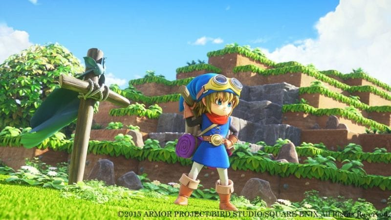Dragon Quest Builders, PlayStation, Sony, E3 2016, exclusive