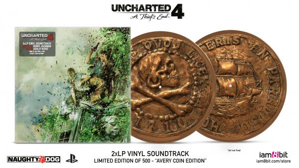 Uncharted 4, vinyl, soundtrack