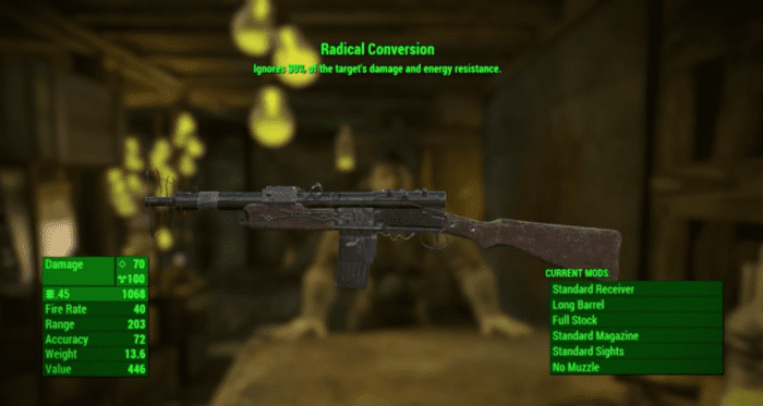 Fallout 4 Far Harbor Radical Conversion