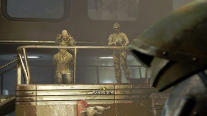Fallout 4 silver shroud kent