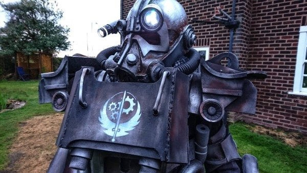Fallout 4, armor, cosplay, art, gaming, classroom, education