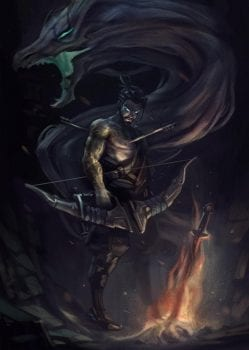 Hanzo, Overwatch, Dark Souls
