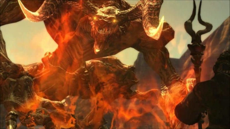 Final Fantasy Summon Ifrit