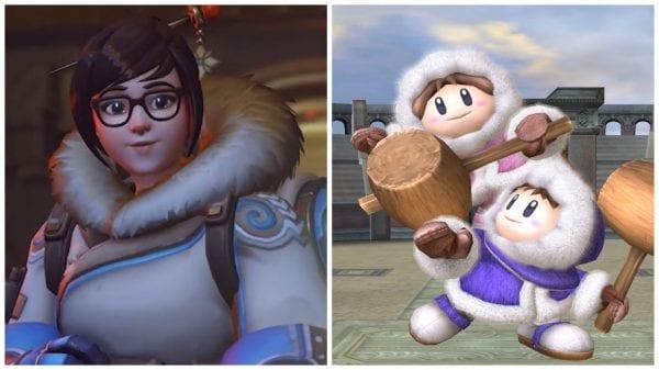 Mei Climbers overwatch heroes, characters lookalikes dopplegangers