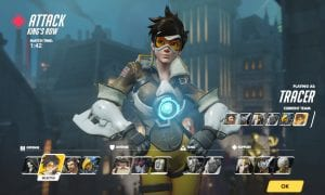 Overwatch, Character Select