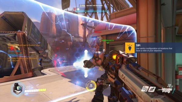 how to tell whats being searched in gorup overwatch