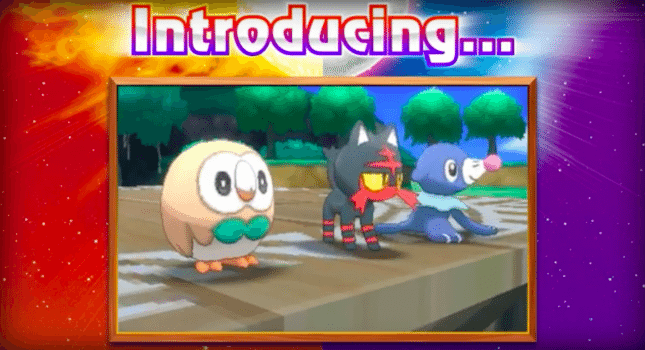 Pokemon Sun and Moon (Nintendo 3DS) - 2016