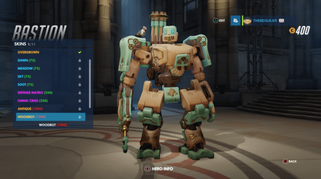 25 Bastion - Woodbot
