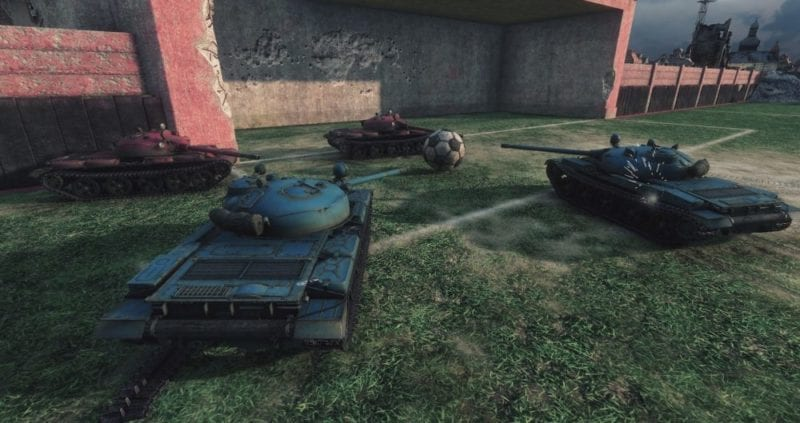 World of Tanks Tank Football
